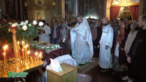 Евпатория. Пасхальная служба в Свято-Ильинской церкви