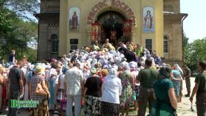 Евпатория. Свято-Ильинский храм. День святого пророка Илии